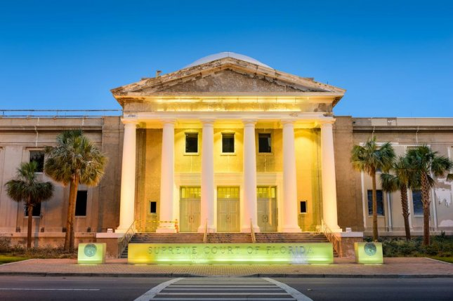 The Florida Supreme Court ruled Friday that the state's law requiring only 10 of 12 jurors to agree to impose a death sentence is unconstitutional. Justices decided that since all jurors already must agree on aggravating factors that must precede any capital sentence, so too must they also vote unanimously to impose that punishment. File Photo by Sean Pavone/Shutterstock