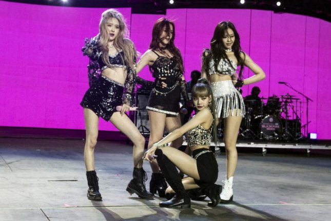 K-pop groups like Blackpink include members from Thailand, where some schools are enforcing bans to keep students from emulating K-pop celebrities. File Photo by Etienne Laurent/EPA-EFE