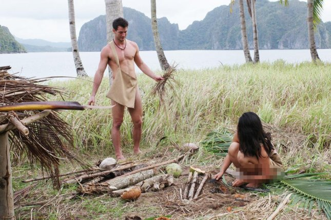 Naked and Afraid of Love is returning for Season 2. Photo courtesy of Discovery+