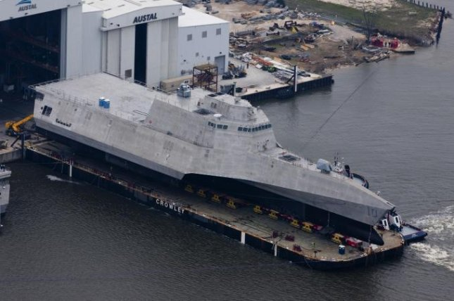 U.S. Navy accepts 9th littoral combat ship USS Gabrielle Giffords