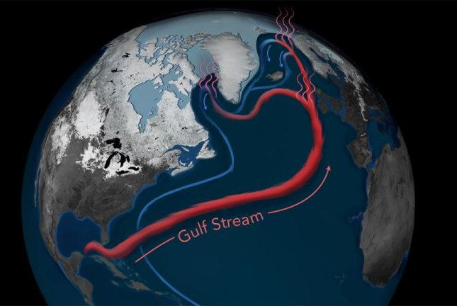 New research suggests the Gulf Stream is moving slower than it has at any point during the last 1,600 years. Photo by Natalie Renier/Woods Hole Oceanographic Institution