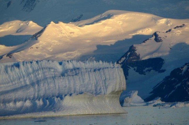 Glaciers on the Antarctica Peninsula aren't losing ice as quickly as previous estimates suggested. Photo by A. E. Hogg/CPOM