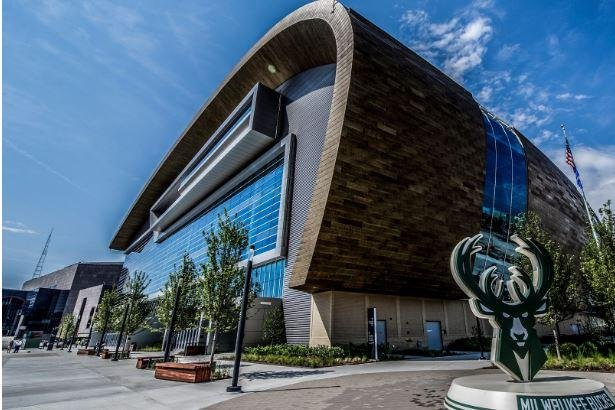 Milwaukee's new Fiserv Forum will host the 2020 Democratic National Convention. Photo courtesy of Visit Milwaukee