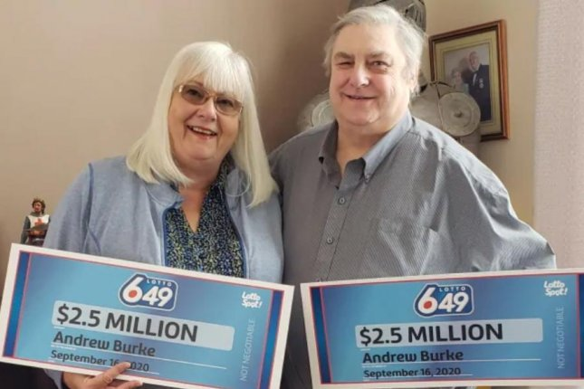Andrew Burke of Calmar, Alberta, ended up splitting a $3.8 million lottery jackpot with himself after accidentally buying two identical tickets for the same drawing. Photo courtesy of the Western Canada Lottery Corp.