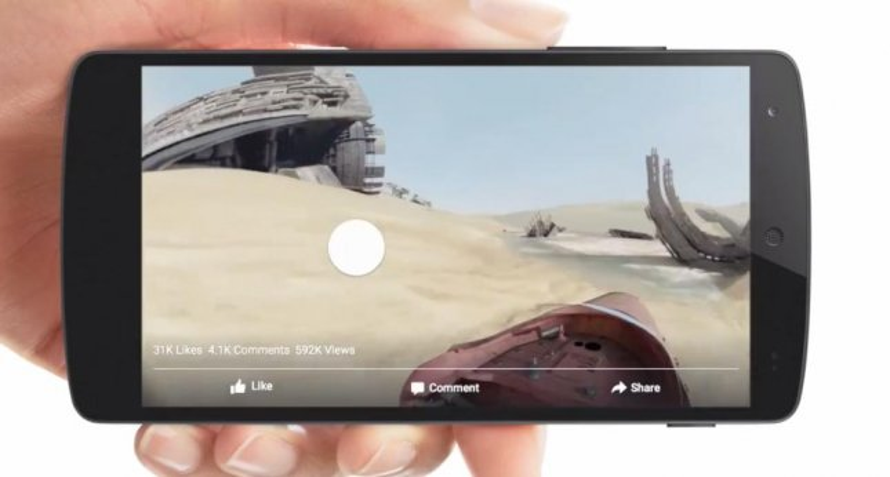 Facebook launches 360-degree video capability - UPI com