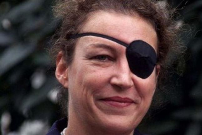 Marie Colvin was reporting from a rebel-held area in Syria when she was killed by government artillery. Her family is suing the Syrian regime. Photo by Brian Smith/Wikipedia