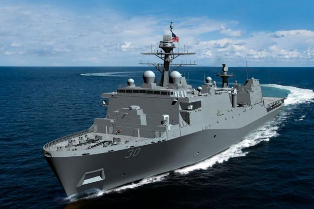 Huntington Ingalls industries received a $1.47 billion contract to build LPD 30, the 14th San Antonio-class landing platform vessel. Photo courtesy of Huntington Ingalls Industries