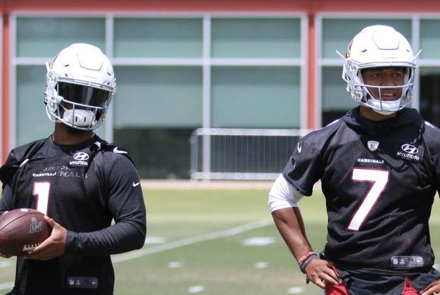 Brett Hundley (7) signed with the Arizona Cardinals in March, before the team selected Kyler Murray (1) with the No. 1 overall pick in the 2019 NFL Draft. Photo courtesy of the Arizona Cardinals