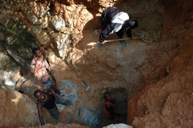Miners died in the collapse of a mine in the Democratic Republic of Congo, similar to the one pictured. File Photo by Julien Harneis/Wikimedia Commons.