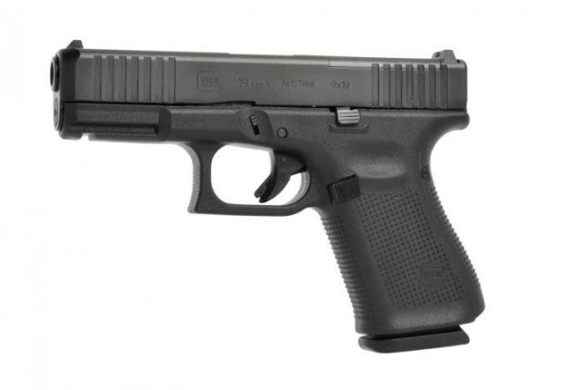 The U.S. Coast Guard began fielding the new Glock 19 Gen5 MOS pistol this week, according to the company. Photo courtesy of Glock Inc.