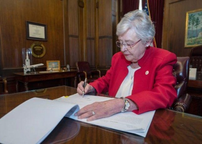 Alabama Gov. Kay Ivey signed a bill instituting a near complete ban on abortion into law on Wednesday. Photo courtesy Kay Ivey