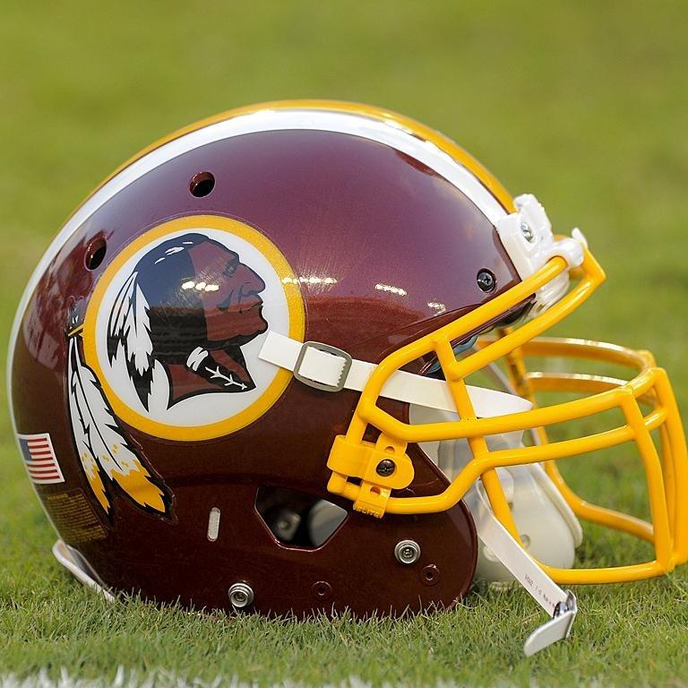 A Washington Redskins helmet. (Washington Redskins/Facebook)