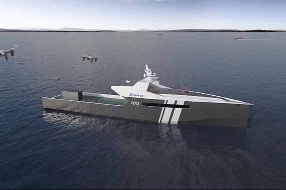 Rolls-Royce has plans for an autonomous naval ship