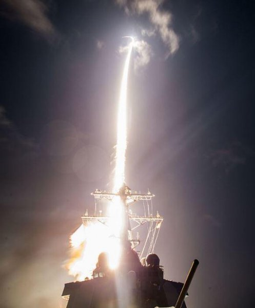 An SM-3 missile is fired from the U.S. Navy destroyer USS John Paul Jones. The Japanese military seeks to purchase up to 56 missiles at a cost of $1.150 billion. Photo courtesy of U.S. Navy