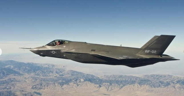 Norway's Air Force used its new F-35A fighter planes to intercept and shadow Russian aircraft on Saturday. Photo courtesy of Norwegian Air Force.