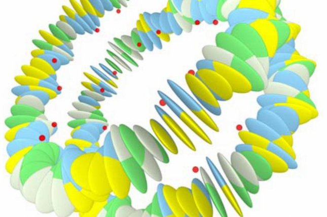New research provides evidence of the presence of a second layer of information in DNA strands, mechanical cues that govern how DNA folds itself into nucleosomes. Photo by Leiden Institute of Physics