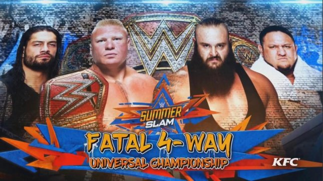 91f05d8c185 WWE SummerSlam  Brock Lesnar retains title