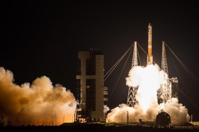 The U.S. Air Force successfully launched the ninth Boeing-built Wideband Global SATCOM satellite aboard a United Launch Alliance Delta IV Evolved Expendable Launch Vehicle from Space Launch Complex 37B, Cape Canaveral Air Force Station, Florida in 2017. Photo courtesy of United Launch Alliance