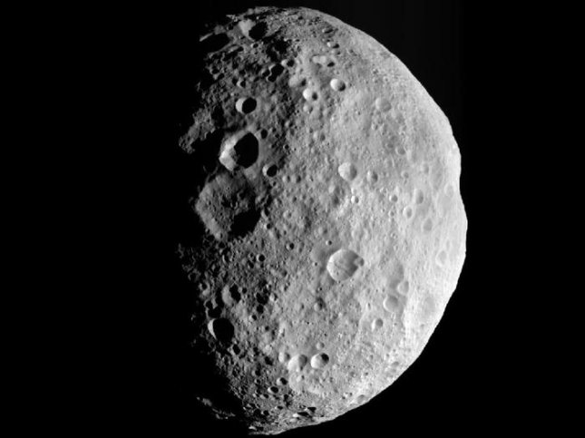 Mineral found on giant asteroid Vesta a puzzle to scientists