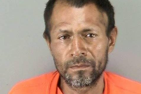 Francisco Sanchez, 45, was arrested Wednesday after he shot a 32-year-old woman while she was out on a walk with her father along San Francisco's waterfront Embarcadero district. Sanchez, a Mexican national, had previously been deported five times but on each occasion managed to return. Photo: San Francisco Police Department