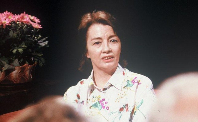 Christine Keeler, seen here appearing on the television program After Dark in 1988, died at the age of 75 on Monday. Photo by Open Media Ltd/Wikimedia Commons
