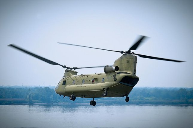 U.S. State Department officials say the possible $3.5 billion sale of CH-47F Chinook helicopters to Saudi Arabia boosts U.S. foreign policy interests. Photo courtesy Boeing