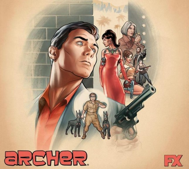 Archer' moving to FXX starting with Season 8 - UPI com