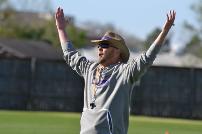 New LSU Tigers offensive coordinator Matt Canada signed a three-year contract worth $1.5 million per year, putting him among the nation's highest-paid coordinators. Photo courtesy of LSU Football/Twitter