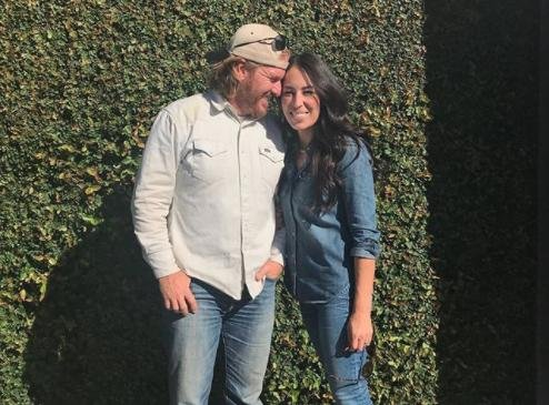 Chip (L) and Joanna Gaines are getting to close to opening Magnolia Table. Photo by Joanna Gaines/Instagram