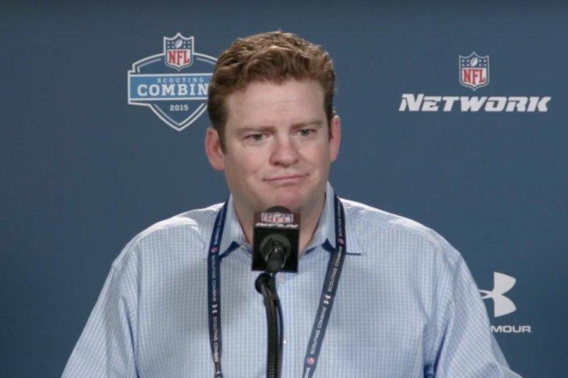 Seattle Seahawks GM John Schneider. (YouTube/USA Today)