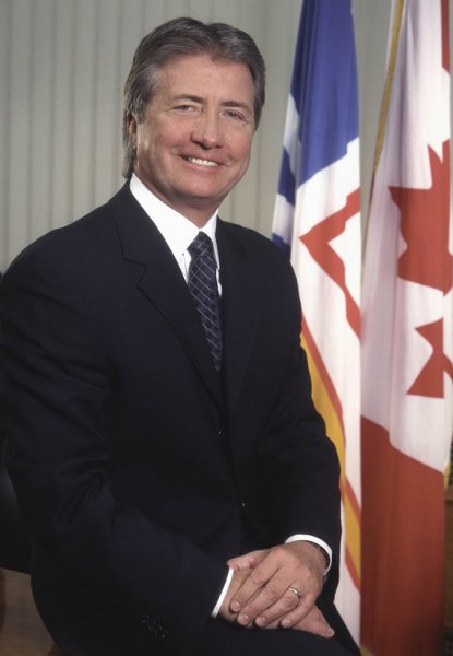 Canadian Conservative Premier Danny Williams of Newfoundland and Labrador. The 60-year-old caused a stir Feb. 1, 2010, by seeking cardiac treatment in the United States instead of in his own province or elsewhere in Canada. Premier's office photo handout.