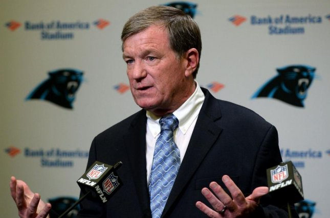 The Carolina Panthers placed interim general manager Marty Hurney on paid leave on Tuesday because of an alleged domestic incident. Photo courtesy of Carolina Panthers/Twitter
