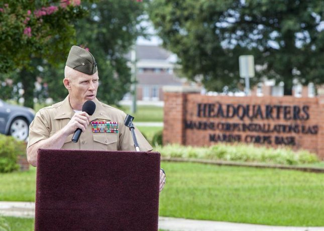 Camp Lejeune, N.C., hosted U.S. Marine Corps Brig. Gen. Thomas Weidley on Aug. 4, 2015. Photo courtesy of Department of Defense.