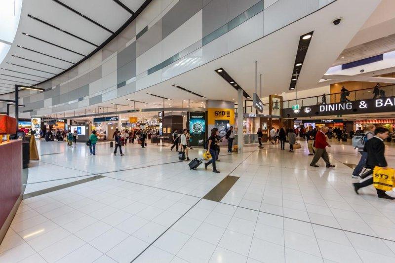 Sydney International Airport. Photo by Tooykrub/Shutterstock