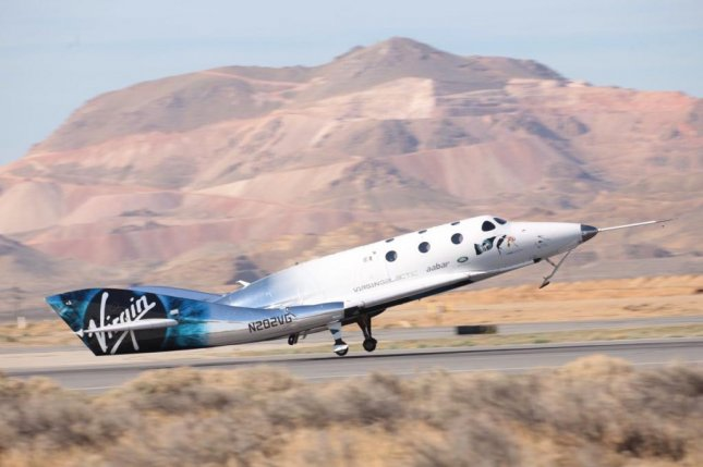 Virgin Galactic successfully launched its SpaceShipTwo model spacecraft Unity, completing its first rocket-powered launch since the fatal 2014 VSS Enterprise test flight crash. Photo courtesy Virgin Galactic/Twitter