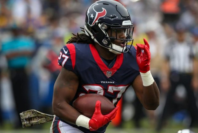 D'Onta Foreman was a third-round pick of the Houston Texans in 2017. Photo courtesy of the Houston Texans