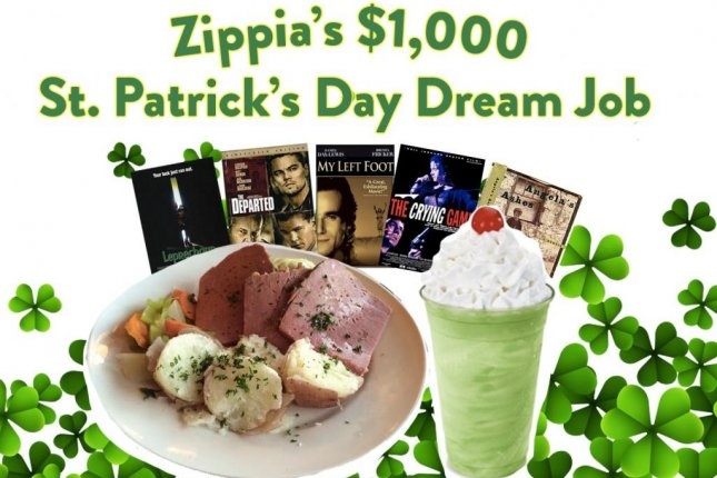 A career resource company is offering $1,000 to an amateur movie critic willing to spent St. Patrick's Day watching 10 Irish movies. Photo courtesy of Zippia