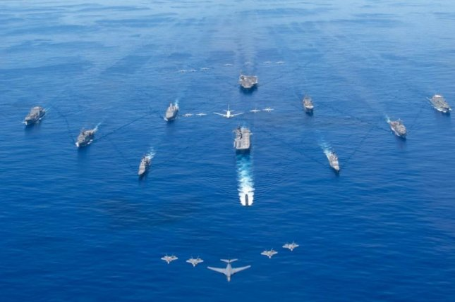 Documents indicate that the Navy is considering a 500-ship fleet, up from its announced goal of 335 ships. Photo by MC3 Jason Tarleton/U.S. Navy