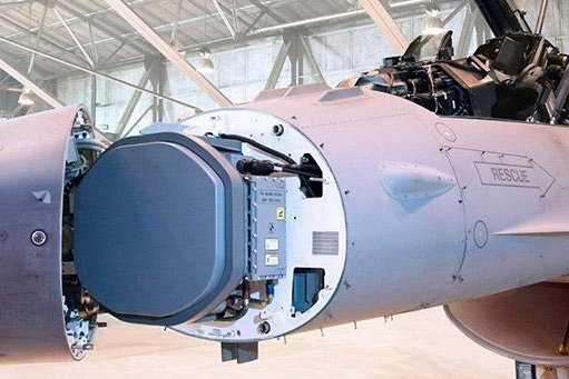 Raytheon manufactures the AESA radar system for the military's F/A-18 fighter jets. Photo courtesy Raytheon