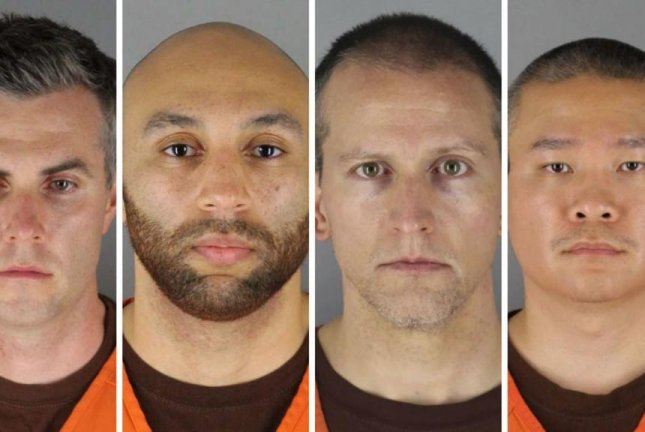 Prosecutors in the case against Derek Chauvin and three other officers involved in the death of George Floyd asked for the trial date to be moved to June from March to allow more people to be vaccinated for COVID-19. Booking photos courtesy of Hennepin County Sheriff's Office.