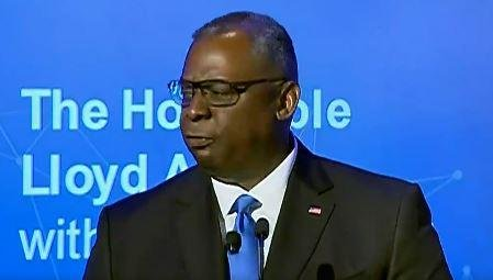 Defense Secretary Lloyd Austin, speaking on Wednesday to the National Security Commission on Artificial Intelligence, said that ethics is a key to military AI development. Photo courtesy of Defense Department/Twitter