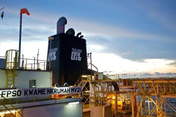 Tullow Oil said its insurance covered the costs associated with loss to business operations at an oil field off the West African coast. Photo courtesy of Tullow Oil.