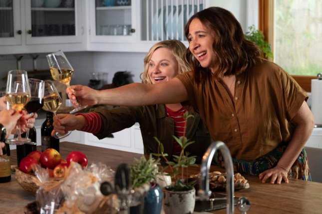 Amy Poehler (L) and Maya Rudolph star in Wine Country on Netflix. Photo courtesy of Netflix