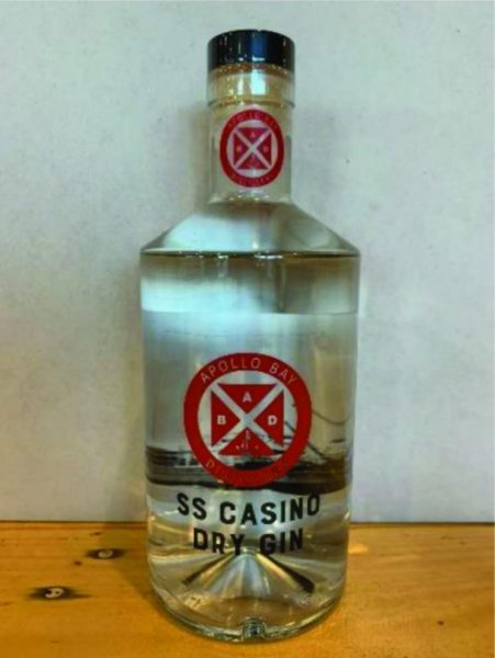 A distillery in Australia issued a recall to recover nine gin bottles that were mistakenly filled with hand sanitizer. Photo courtesy of the Apollo Bay Distillery