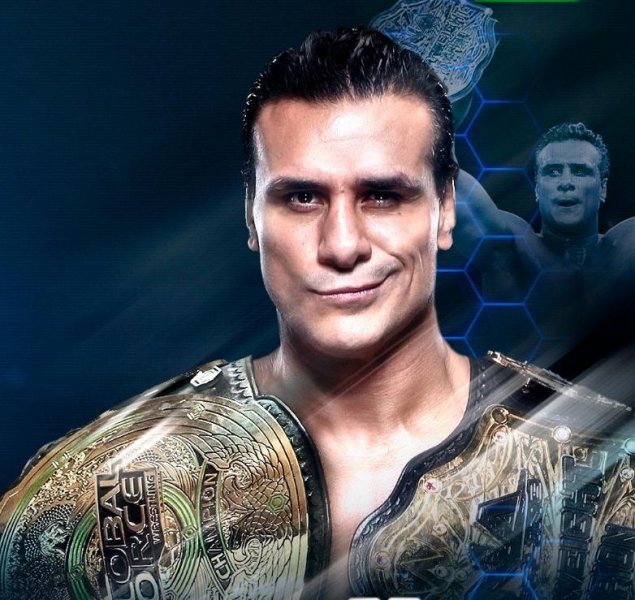 Professional wrestler Alberto El Patron, real name Jose Alberto Rodriguez, is being investigated after an incident involving his fiancee Paige took place at Orlando International Airport. Photo courtesy of Impact Wrestling/Twitter