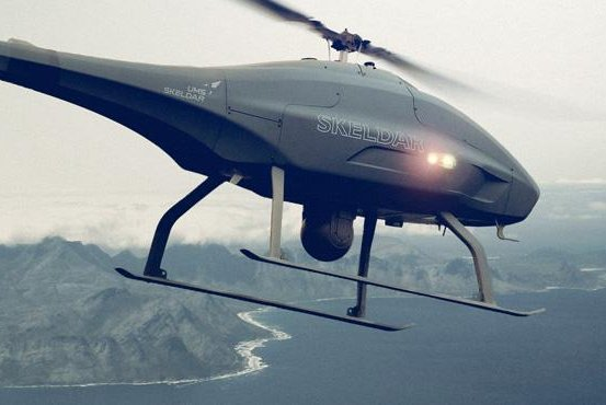 Indonesia's ministry of defense procured the Skeldar V-200 to support search-and-rescue and intelligence gathering operations. Photo courtesy of UMS Skeldar