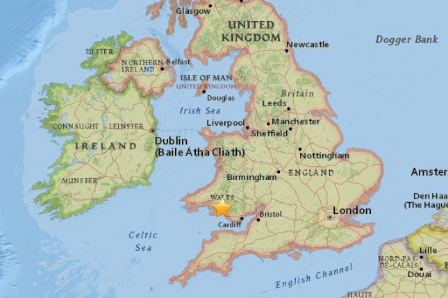 Parts of UK shaken by 4.4 magnitude earthquake