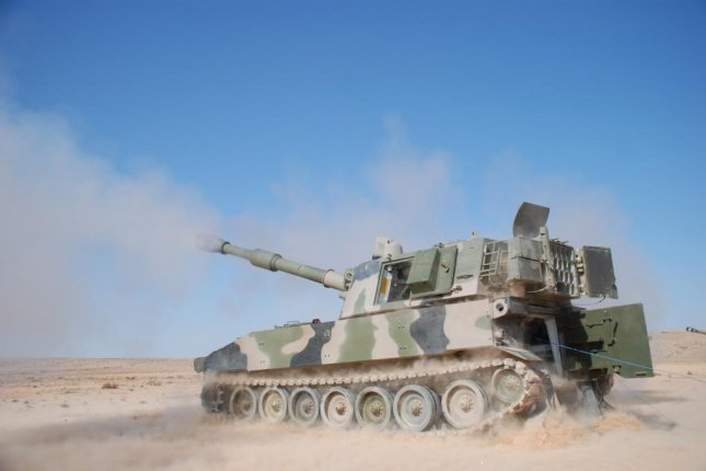 BAE Systems Land and Armaments has been awarded a $53.8 million U.S. Army contract for work on Brazilian M109A5 Howitzers. A Moroccan version of the Howitzer is shown here in 2012. U.S. Army photo