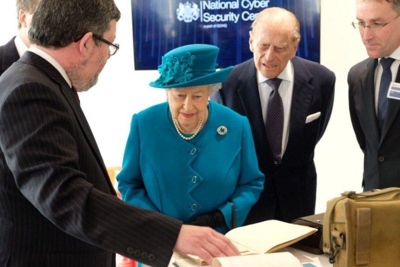 Queen Elizabeth II inaugurates Britain's new cybersecurity agency