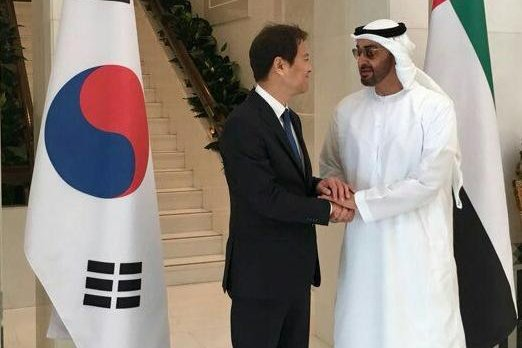 Report: South Korean official's UAE visit tied to military deal